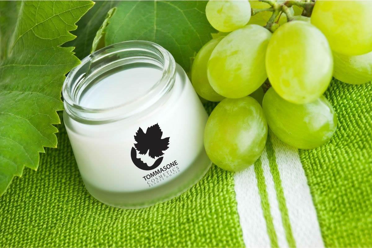 Crema a base di uva biologica